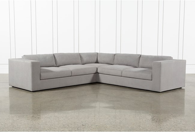 Whitley 3 Piece Sectional By Nate Berkus & Jeremiah Brent - 360