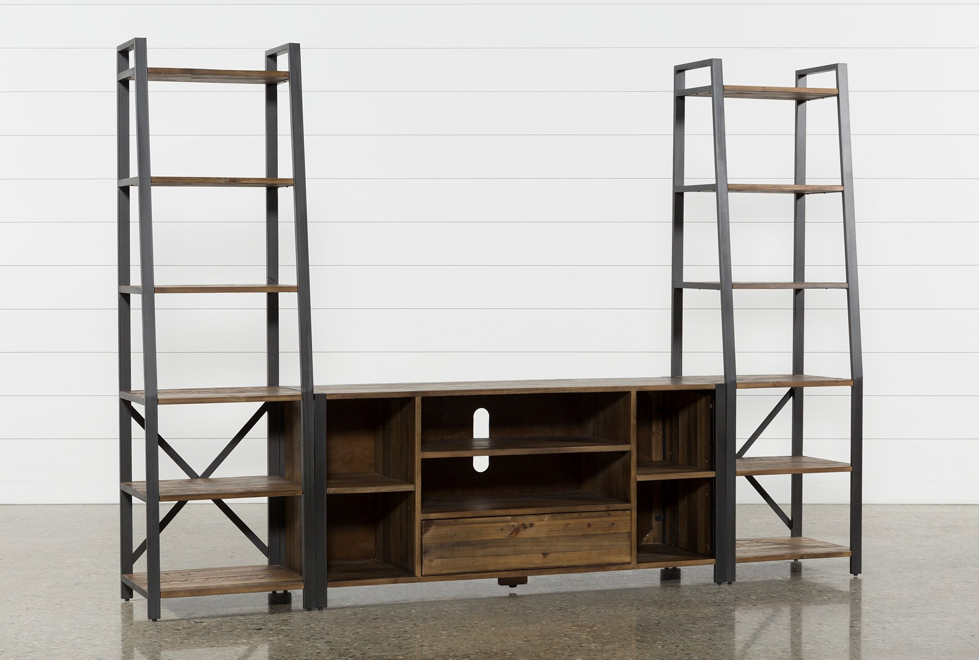 Marvin Rustic Natural 3 Piece Entertainment Center Qty 1 Has Been Successfully Added To Your Cart