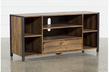 Marvin Rustic Natural 60 Inch TV Stand - Main