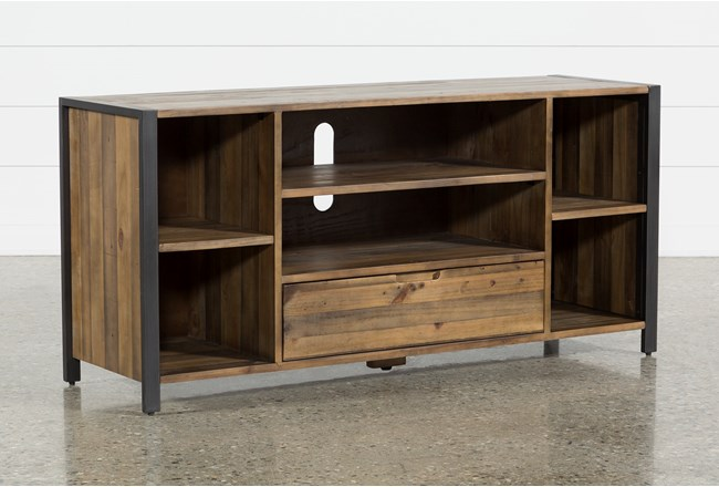 Marvin Rustic Natural 60 Inch Tv Stand Living Spaces