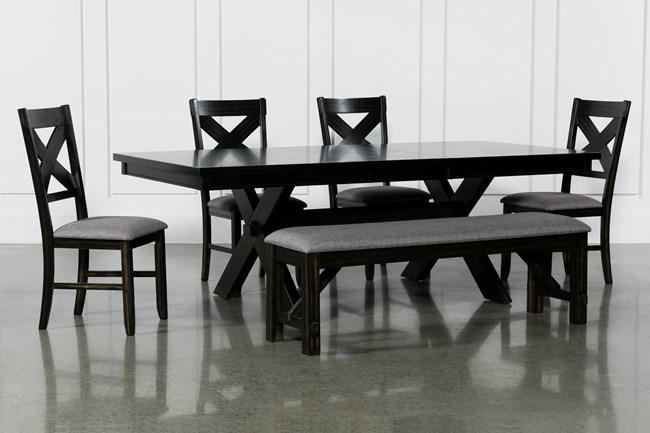Pelennor 6 Piece Extension Dining Set - 360