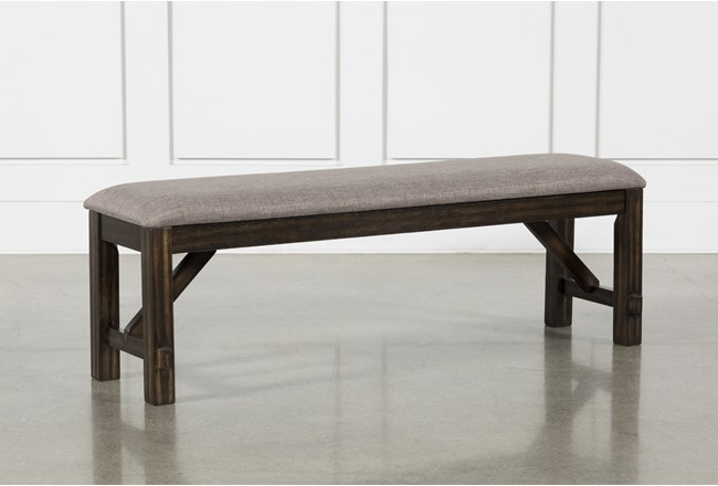 Pelennor Dining Bench With Cushion - 360