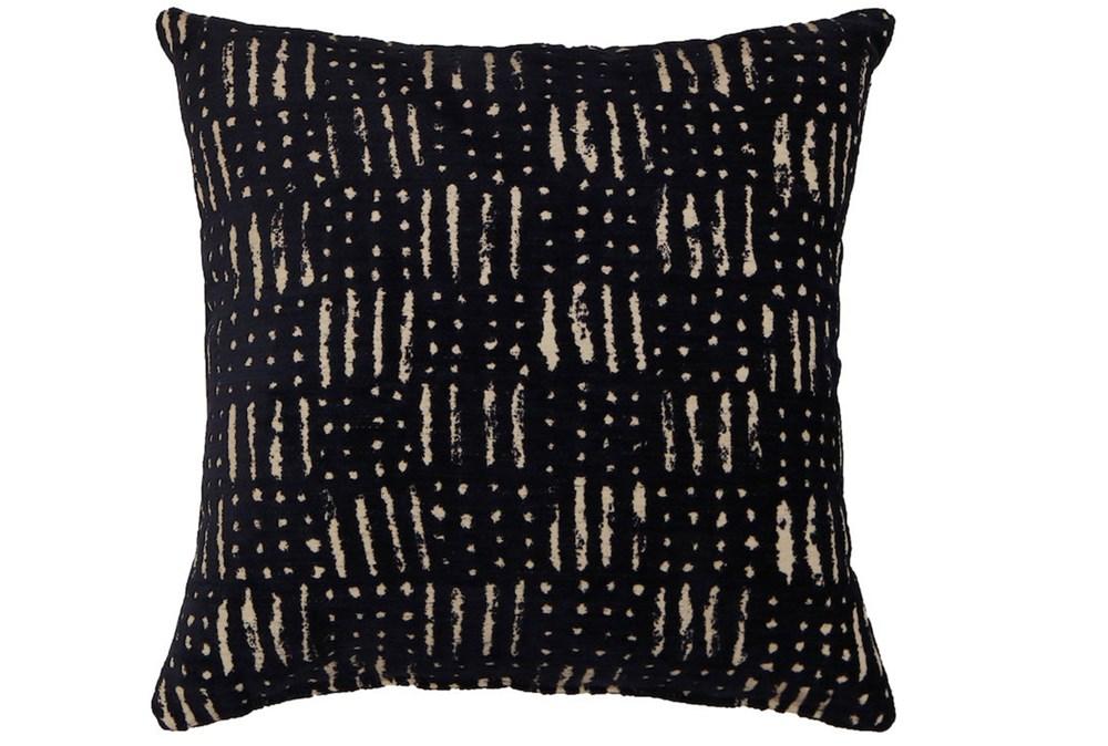 Accent Pillow-Shibori Indigo III 18X18