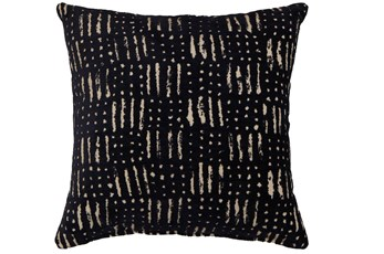 Accent Pillow-Shibori Indigo III 18X18