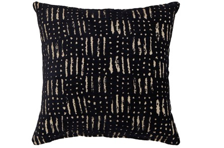 Accent Pillow-Shibori Indigo III 18X18 - Main