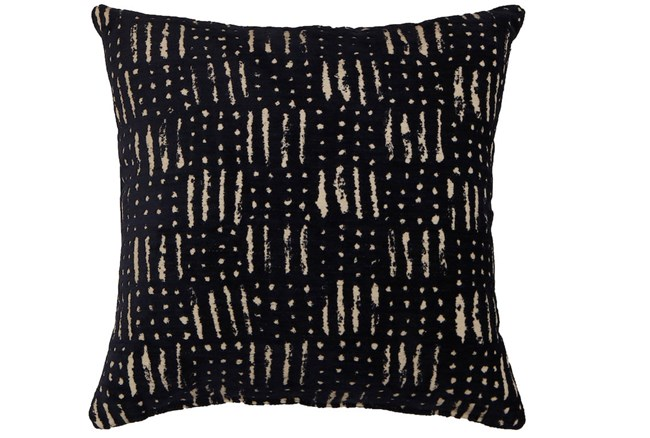 Accent Pillow-Shibori Indigo III 18X18 - 360