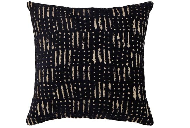 Accent Pillow-Shibori Indigo III 18X18 - 360