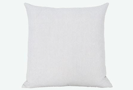 Accent Pillow-Edgar Graphite 22X22 N+J