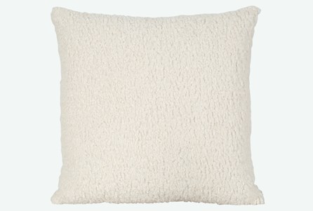 Accent Pillow-Sheepskin Natural 22X22 N+J