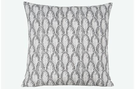 Accent Pillow-Plume Stone 22X22 N+J - Main
