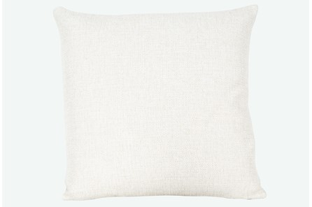 Accent Pillow-Sugarshack Natural 22X22 By Nate Berkus and Jeremiah Brent