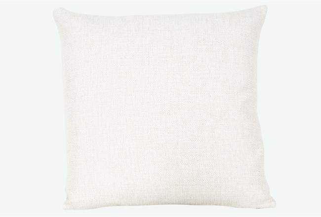 Accent Pillow-Sugarshack Natural 22X22 By Nate Berkus and Jeremiah Brent - 360