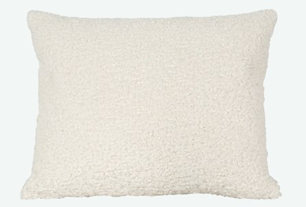 Accent Pillow-Sheepskin Natural 18X22 N+J