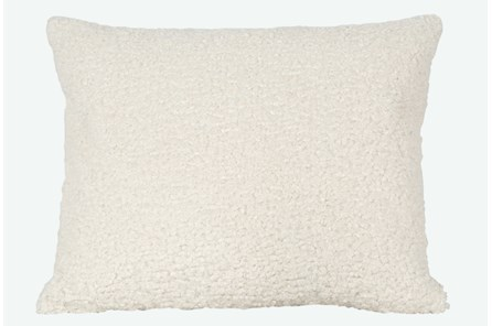 Accent Pillow-Sheepskin Natural 18X22 By Nate Berkus and Jeremiah Brent - Main
