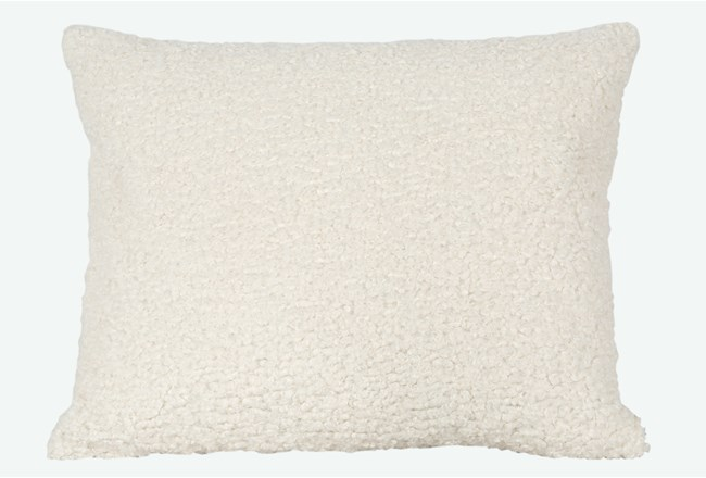 Accent Pillow-Sheepskin Natural 18X22 By Nate Berkus and Jeremiah Brent - 360