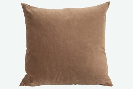 Accent Pillow-Monaco Coffee 22X22 N+J