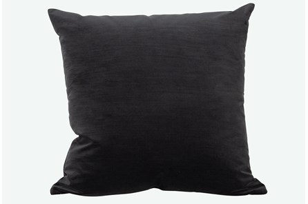 Accent Pillow-Monaco Coal 22X22 By Nate Berkus and Jeremiah Brent - Main