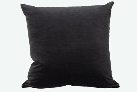 Accent Pillow-Monaco Coal 22X22 By Nate Berkus and Jeremiah Brent - Main