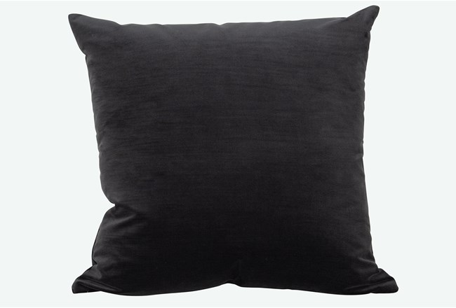 Accent Pillow-Monaco Coal 22X22 By Nate Berkus and Jeremiah Brent - 360