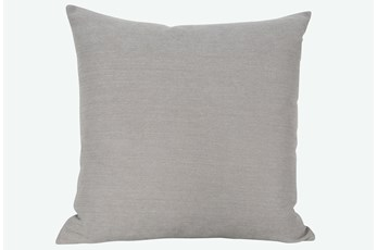 Accent Pillow-Peyton Slate 22X22 By Nate Berkus and Jeremiah Brent