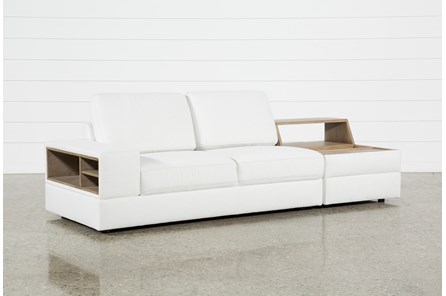 Larimar Stone 2 Piece Sectional With Left Arm Facing Sofa - Main