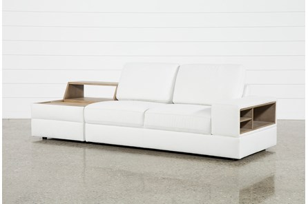 Larimar Stone 2 Piece Sectional With Right Arm Facing Sofa - Main