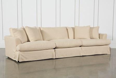Solano Slipcovered 3 Piece Sofa