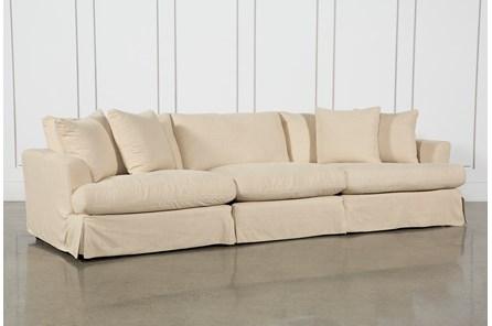 Solano Slipcovered 3 Piece Sofa - Main