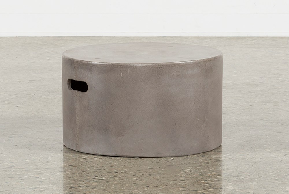 Outdoor Poipu Concrete Low Cluster Table
