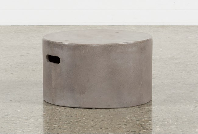 Outdoor Poipu Concrete Low Cluster Table - 360