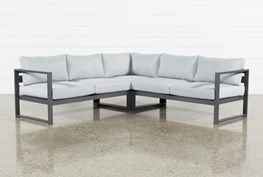 Outdoor Ravelo 3 Piece Sectional