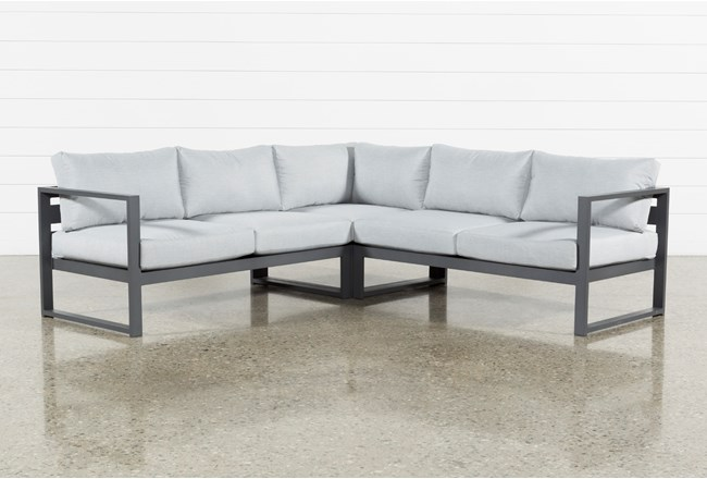 "Ravelo Outdoor 3 Piece 93"" Sectional - 360"