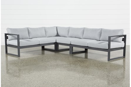 Outdoor Ravelo 4 Piece Sectional
