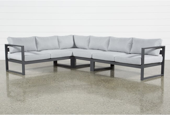 Ravelo Outdoor 4 Piece Sectional - 360