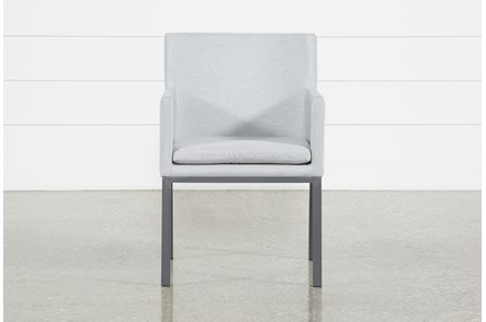 Outdoor Ravelo Upholstered Side Chair