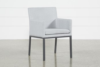 Ravelo Outdoor Upholstered Dining Side Chair