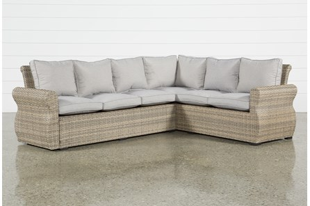 Malta Outdoor Banquette Sectional