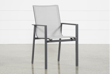 Ravelo Outdoor Sling Dining Side Chair