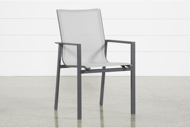 Ravelo Outdoor Sling Dining Side Chair - 360
