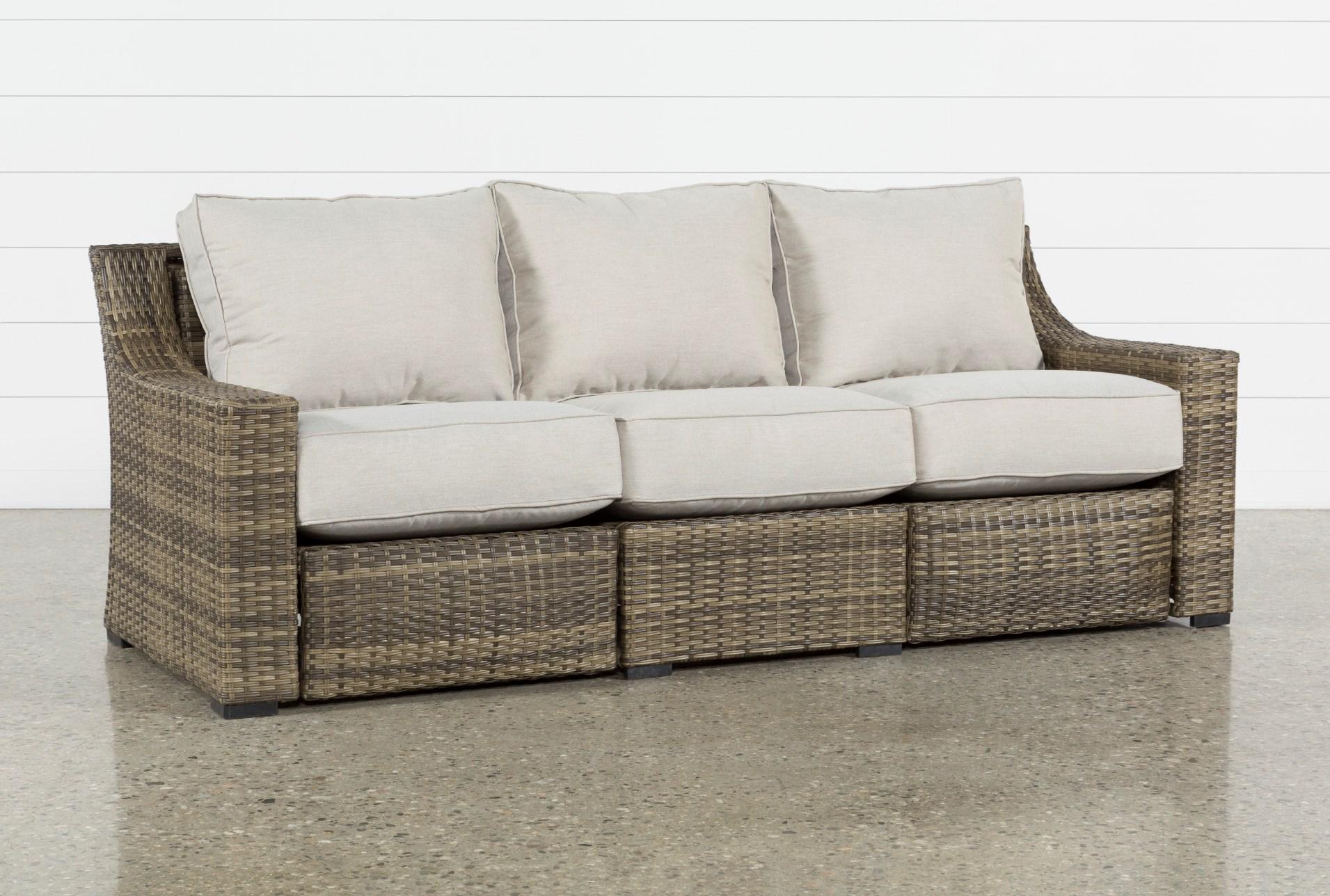 Outdoor Aventura Reclining Sofa Living Spaces