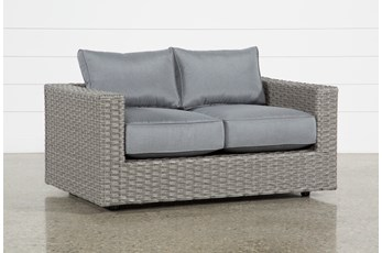 "Koro 57"" Outdoor Loveseat"