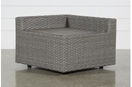 Outdoor Koro Corner Storage Table