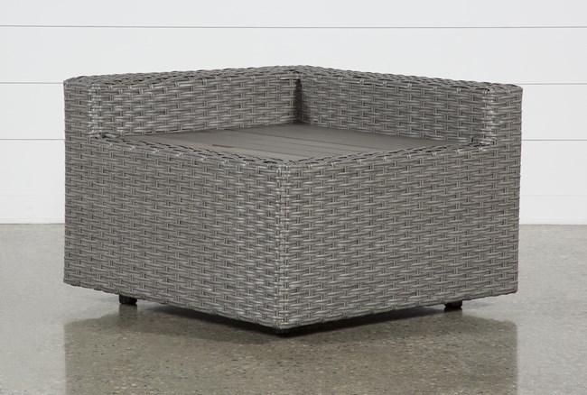 Outdoor Koro Corner Storage Table - 360