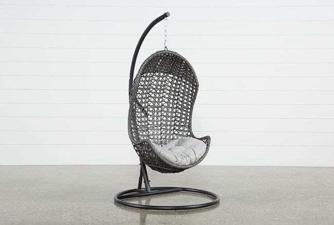 Outdoor Cedros Egg Chair - 360