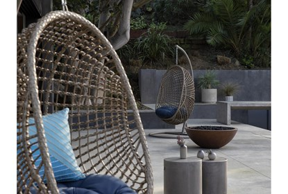 Grenada Outdoor Egg Chair Living Spaces