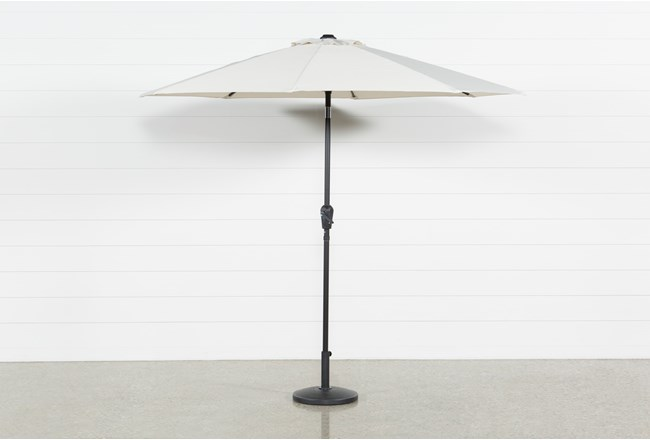 Market Outdoor Beige Umbrella - 360