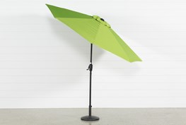 Outdoor Market Green Umbrella