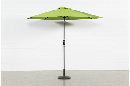 Outdoor Market Green Umbrella