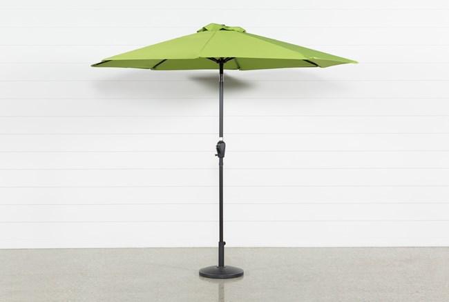 Outdoor Market Green Umbrella - 360