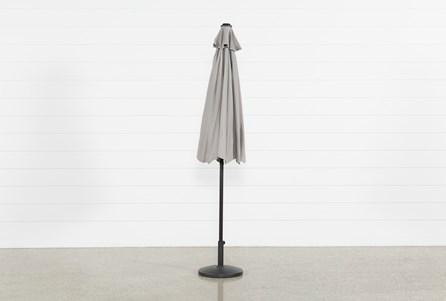 Outdoor Market Grey Umbrella